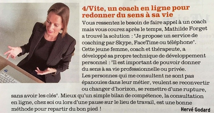 interview coach de vie